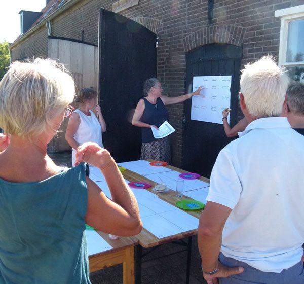 Vergaderen in de Biesbosch
